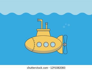 vector submarine design