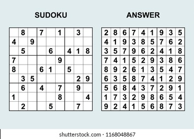 Sudoku Images Stock Photos Vectors Shutterstock