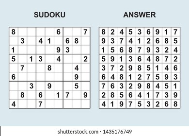 Sudoku Answers Images, Stock Photos & Vectors | Shutterstock