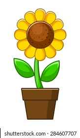sunflower cartoon images stock photos vectors shutterstock rh shutterstock com sunflower cartoon wallpaper sunflower cartoon background
