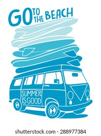 vector surf bus