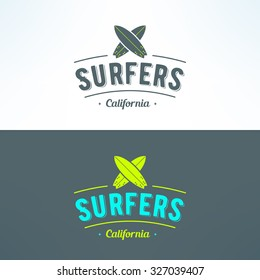 Surfing Logo Images, Stock Photos & Vectors | Shutterstock