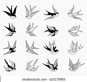 Vector Swallow Set