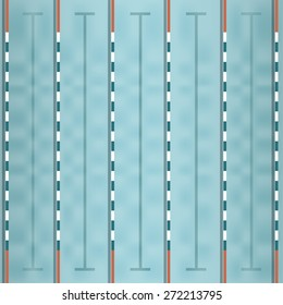vector of swimming pool top view