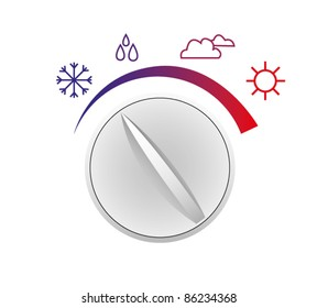 Vector switch of weather