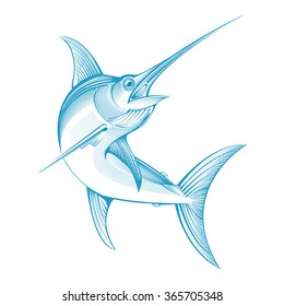 vector swordfish