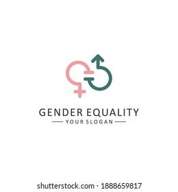 Vector symbol of gender equality