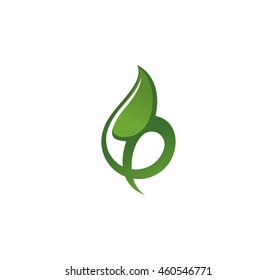 Vector Symbol - shoot, shoot, young plant