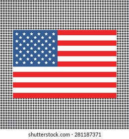 6c8dbb9381a American Flag Colors Website Header Banner Stock Vector (Royalty ...