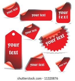 vector tags (stickers)
