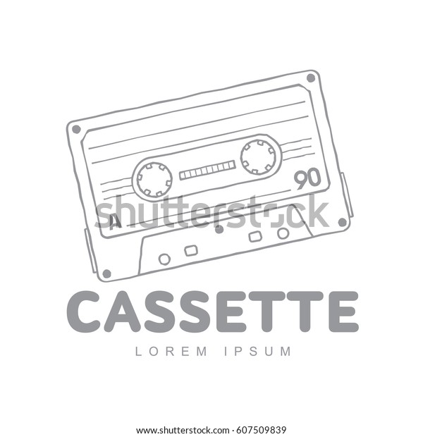 Cassette Tape Label Template from image.shutterstock.com