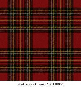 Vector tartan pattern background