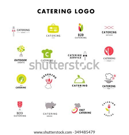 vector template catering company logo logo のベクター画像素材