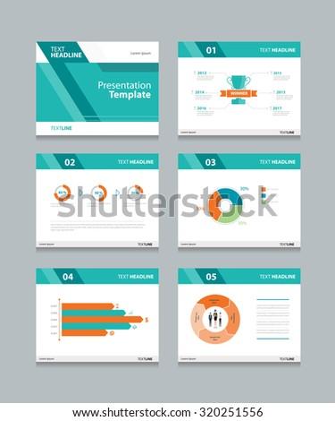 vector template presentation slides background designinfo stock