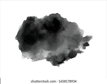 vector texture black ink paint stroke background