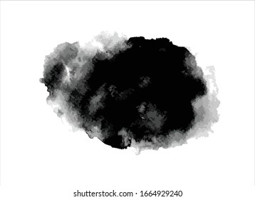 vector texture black ink paint stroke background