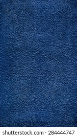 vector texture of the old dark blue book cover.