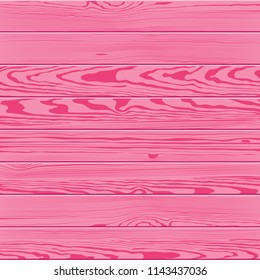 Vector texture of pink color wood