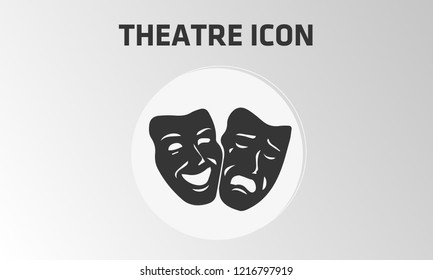 Vector theatre icon