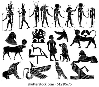 Vector - themes of ancient Egypt