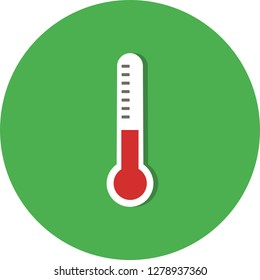 Vector Thermometer Icon