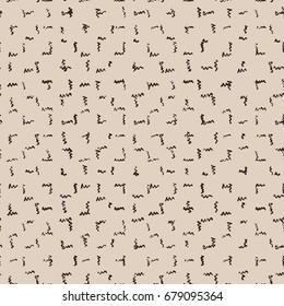 Vector tie dye seamless pattern. Hand drawn shibori print. Ink textured japanese background. Modern batik wallpaper tile. Watercolor indigo endless backdrop. Black and white monochrome swimwear.