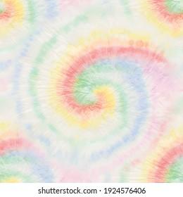 Vector Tie Dye Swirl. Rainbow Pale Spiral Tie Dye. Seamless Tiedye. Pastel Tie Dye Shirt. Color Tye Die Swirl Pattern. Fabric Music. Seamless Soft Repeat. Pink Pastel Pattern. Pale Tie Dye Background
