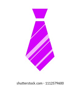vector tie, textile apparel fashion isolated - design fashion illustration - cravate symbol