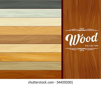 Vector Tile wood floor striped design background, illustration