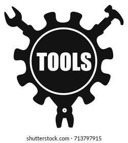 Vector tools icon.