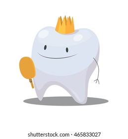 Vector Tooth and Crown