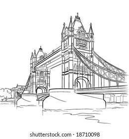 Tower Bridge London Clipart Images Stock Photos Vectors