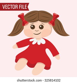 Vector Toy Doll