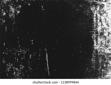 A vector tracing of a black and white distressed lino print texture. Ideal for use as a background texture or for adding grungy, aged effects to graphics.