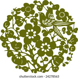 Vector of Traditional Ancient Chinese Artistic Pattern