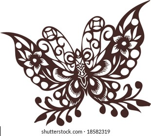 Vector of Traditional Chinese Artistic Pattern