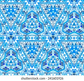 vector traditional ethnic pattern.