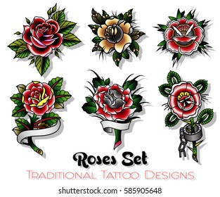 Rose Tattoo Images Stock Photos Vectors Shutterstock