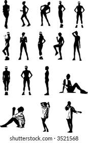 vector training women