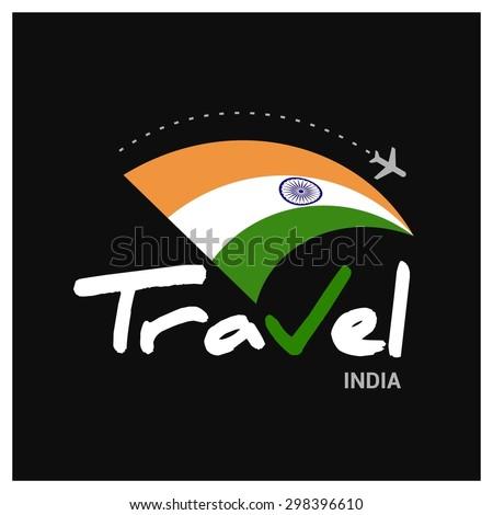 Vector Travel Company Logo Design Country Stock Vector Royalty Free