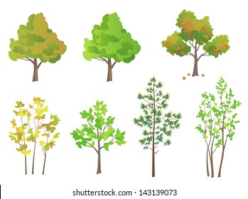 Vector trees - design elements
