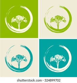 Vector Trees and Zen Circles Set