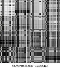 Vector Trendy style patterns. Modern stylish texture. Repeating geometric tiles and lines.