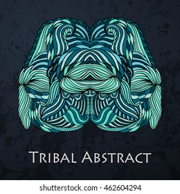 Vector Tribal Abstract element for design and decor.