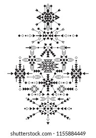 Vector Tribal Design Element, ethnic style