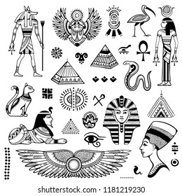 Egyptian Tattoo Design Images Stock Photos Vectors Shutterstock