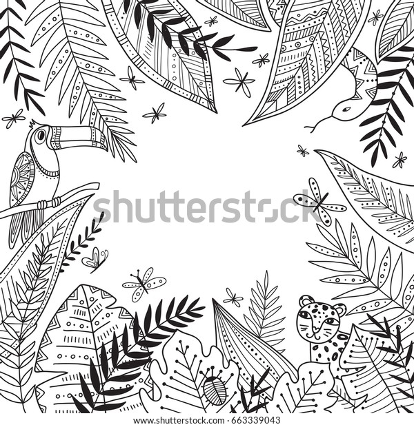 Free Palm Branch Coloring Page, Download Free Clip Art, Free Clip ... | 620x600