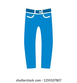 vector trousers icon