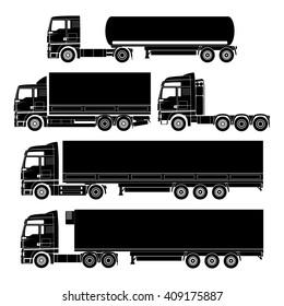 Vector truck set