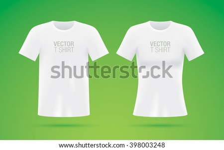 Vector Tshirt Templates Tshirt Mockup Man Image Vectorielle De Stock